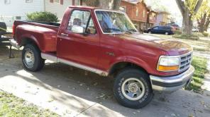 1992 Ford F150 Flairside 4x4